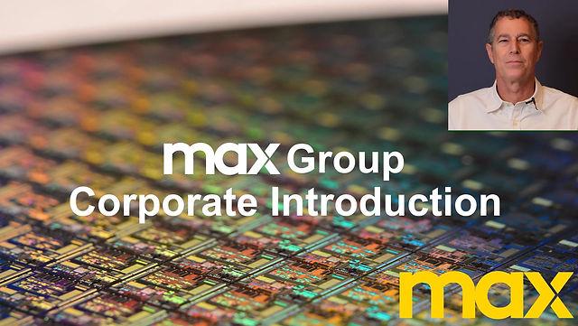 MAX Company Introduction