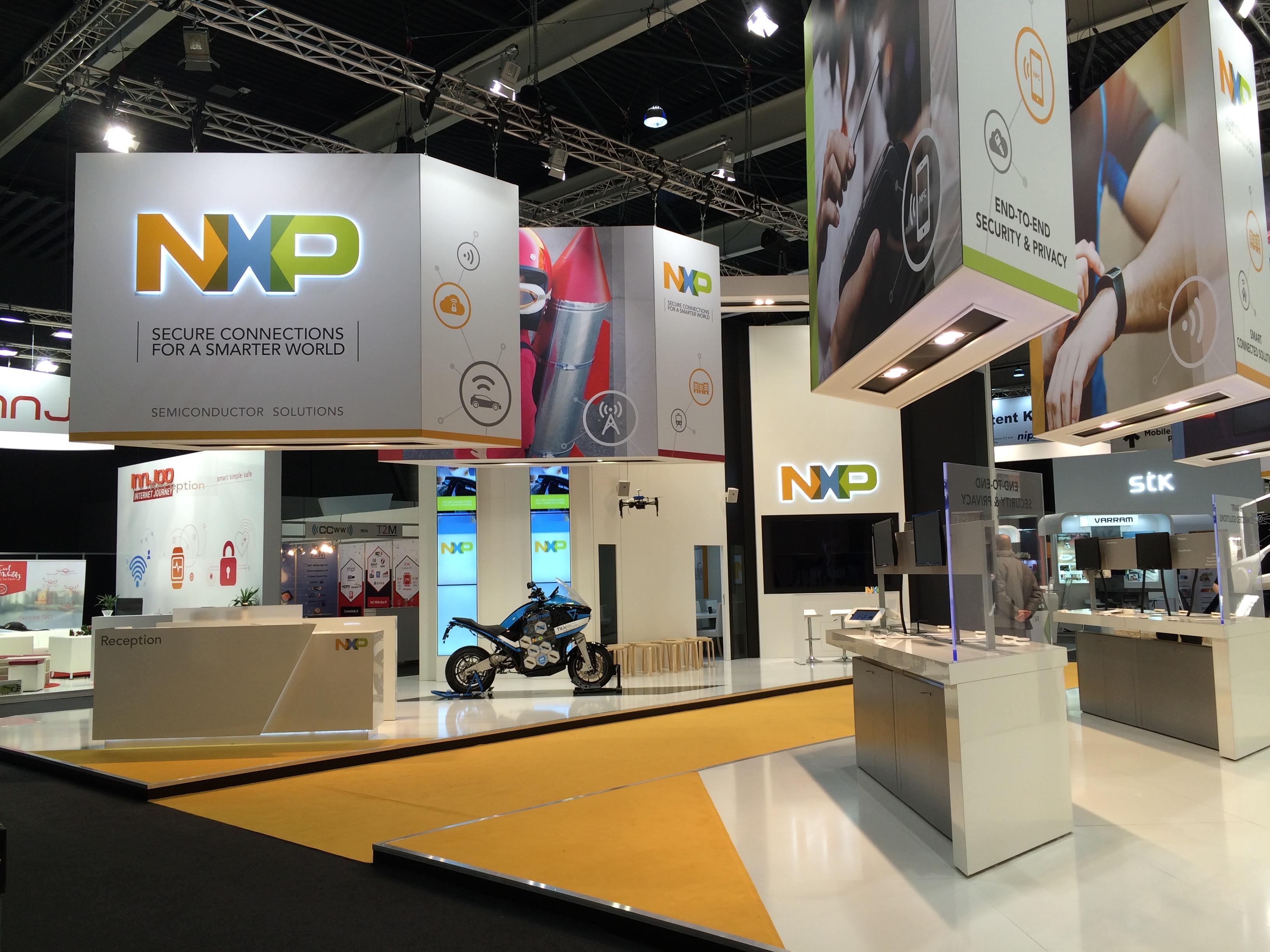 NXP, MWC 16, Barcelona,ES