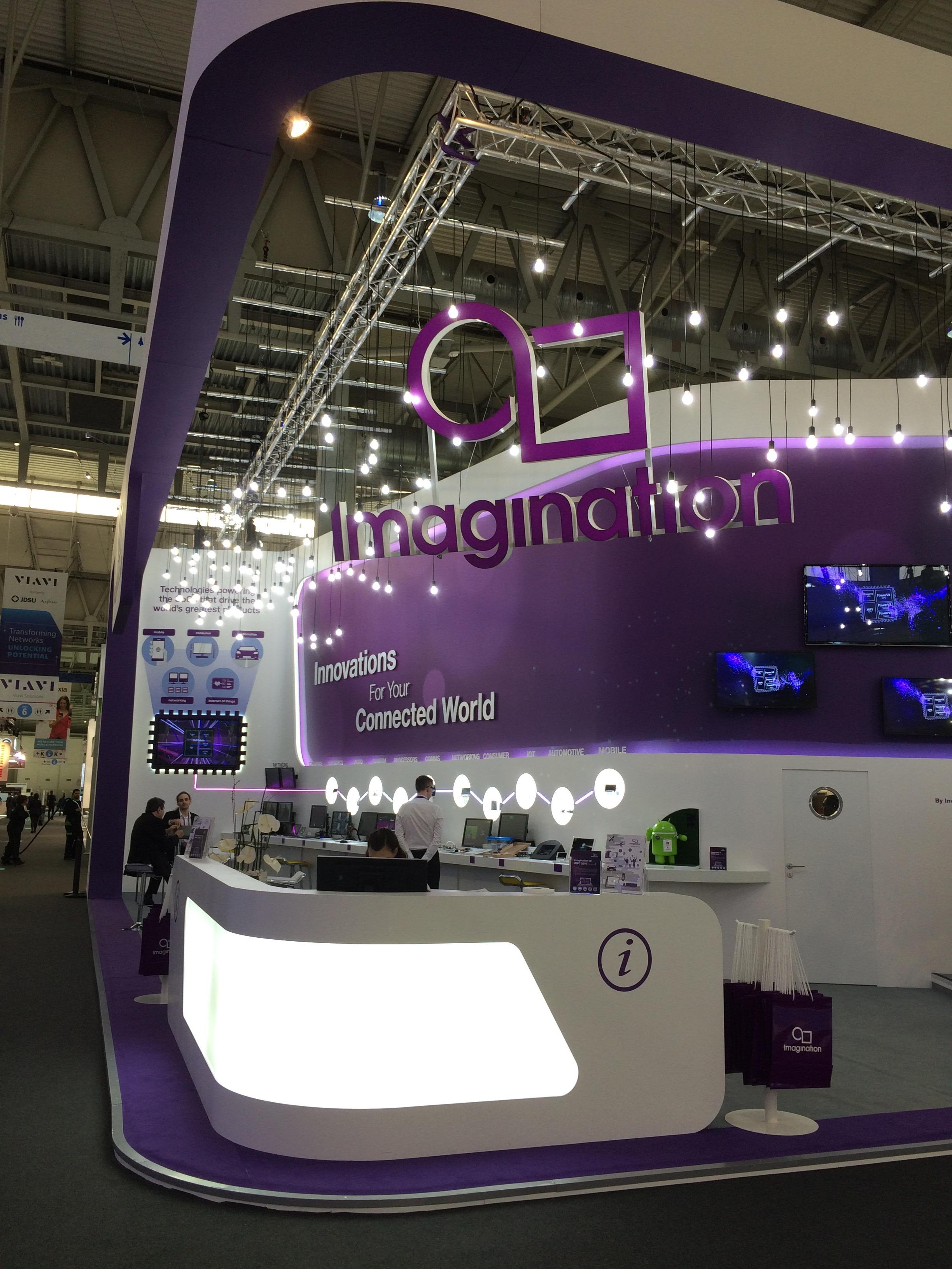 Imagination, MWC 16, Barcelona, ES
