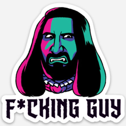 What We Do in the Shadows Nandor sticker
