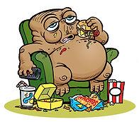 Toxic Comic: Extra-Cholesterol illustration