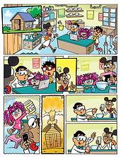 Slime Factory Comic