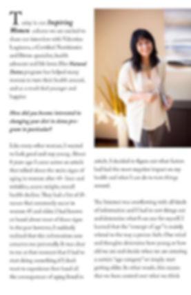 Natural detox авторская программа Валентины Логиновой интервью  в журнале Simplicity
