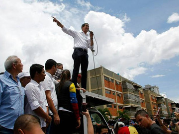Juan Guaidó responde a los críticos sobre el diálogo en Noruega