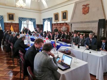 Ocho países firman acuerdo de plan de acción sobre migración venezolana