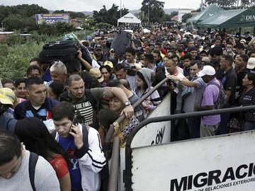 Acnur llamó a los colombianos a combatir la xenofobia contra los venezolanos
