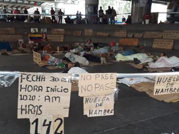 Trabajadores de la Faja Petrolífera del Orinoco cumplen 160 horas de huelga de hambre
