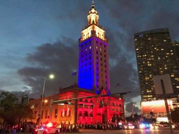 La Freedom Tower de Miami se iluminará este 27 de junio con el tricolor venezolano