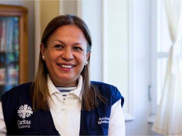 Directora de Organización Caritas Venezuela recibe el Premio Humanitario 2019