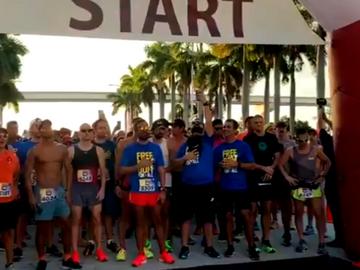 Realizan carrera en Miami para recaudar fondos para Venezuela