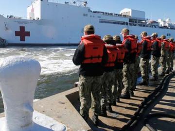 Estados Unidos atenderá con buque hospital a venezolanos en Latinoamérica