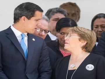 Michelle Bachelet visita la Asamblea Nacional