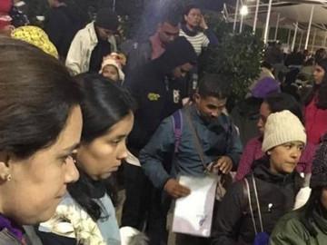 Chile niega entrada a más de 200 venezolanos