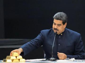 Gobierno de Maduro pierde 20 toneladas de oro por en Deutsche Bank
