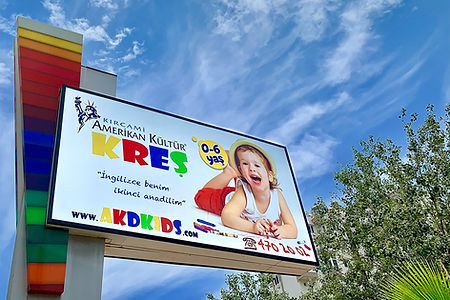AKD Kids Kreş - totem