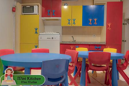 Mini mutfak - AkdKids Kreş