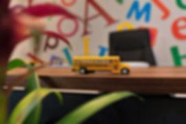 AkdKids Kreş - okul otobüsü maket