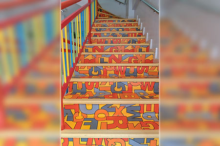 AkdKids Kreş - merdiven