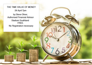 It's about time to look at your money! Note the change in date, now 24 April, 7pm at Stadium Southland.