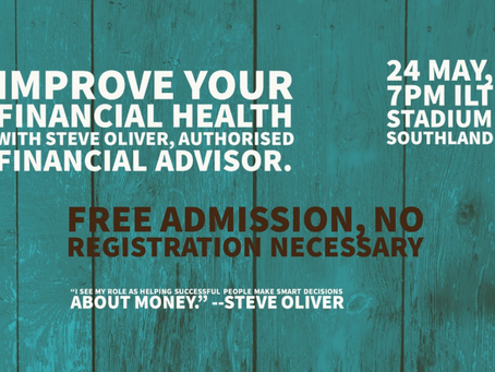 In our next Accelerate session we are discussing financial health for everyone