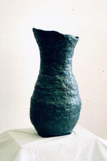 Vase cobalt