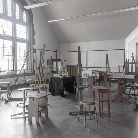 Painting Studio Photo by Sarah Nesbitt.j