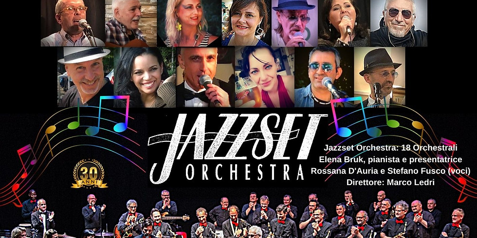 """""""Emozioni in musica"""" la Jazzset Orchestra e Allegra Group assieme al Teatro Romano"""