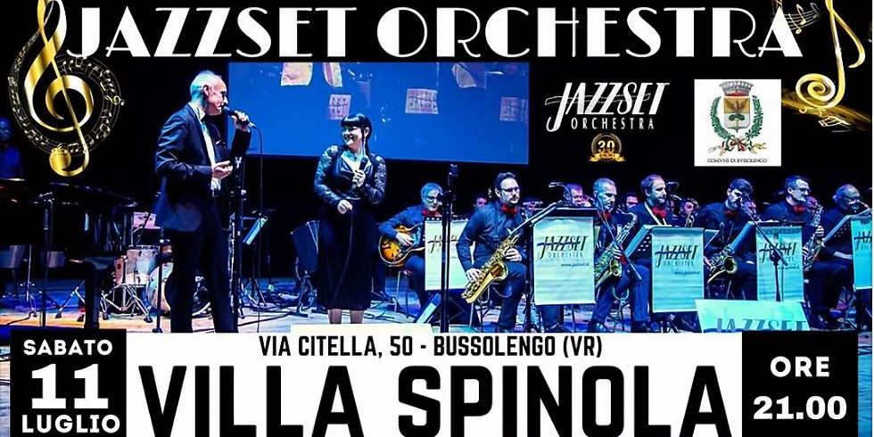 Concerto JazzSet Orchesta  a Bussolengo ( VR )