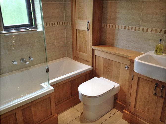 BESPOKE OAK BATHROOM
