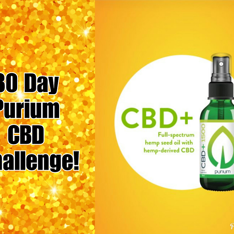 30 Day Purium CBD Challenge