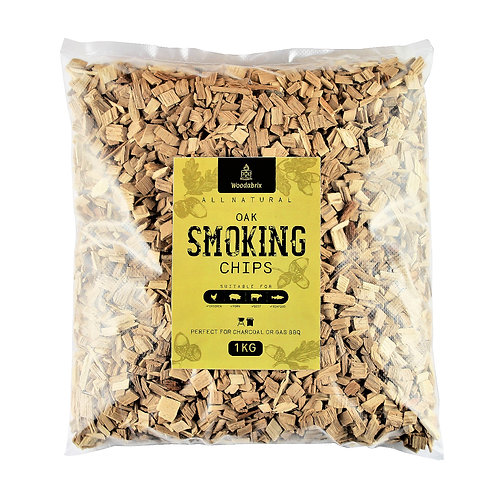 Woodabrix Natural Smoking Chips - Oak