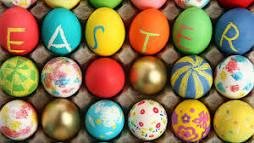 Easter raffle.