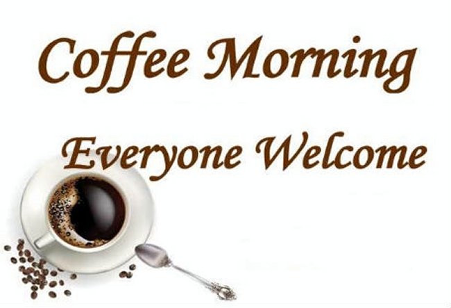 Coffee Morning Friday May 18th, 10am in the GAA clubhouse