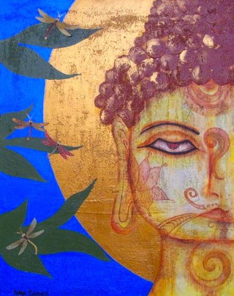 Sapphire Buddha