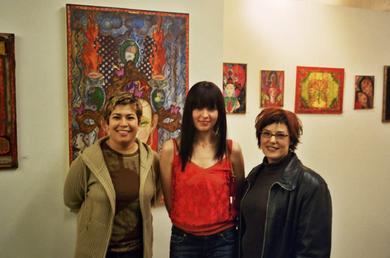 Artist reception at Perihelion Arts