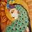 Thumbnail: Peacock Lady Giclee Print
