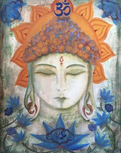 Blue Lotus Buddha