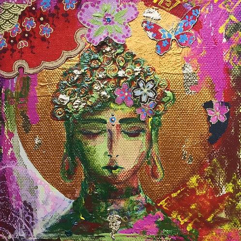 Rosie Buddha Giclee Print