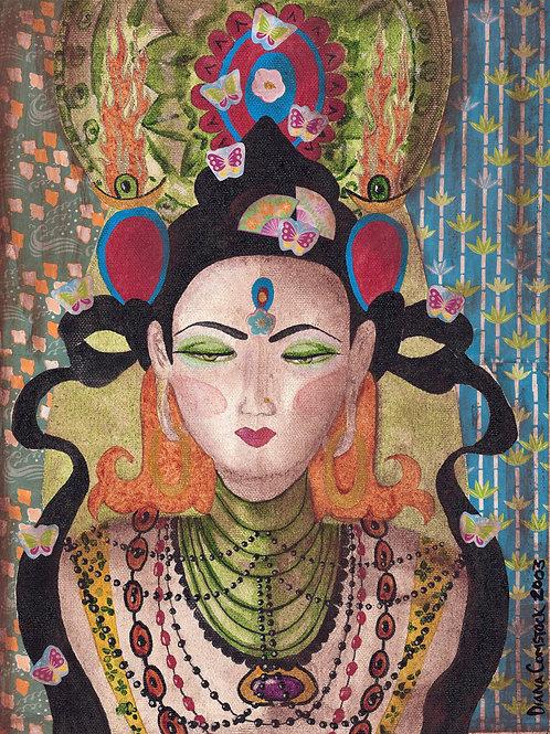 Butterfly Queen Giclee Print