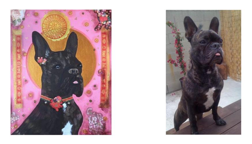 Henri the French Bulldog Portrait