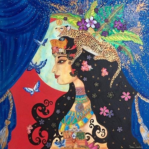 Jaguar Queen Original Painting