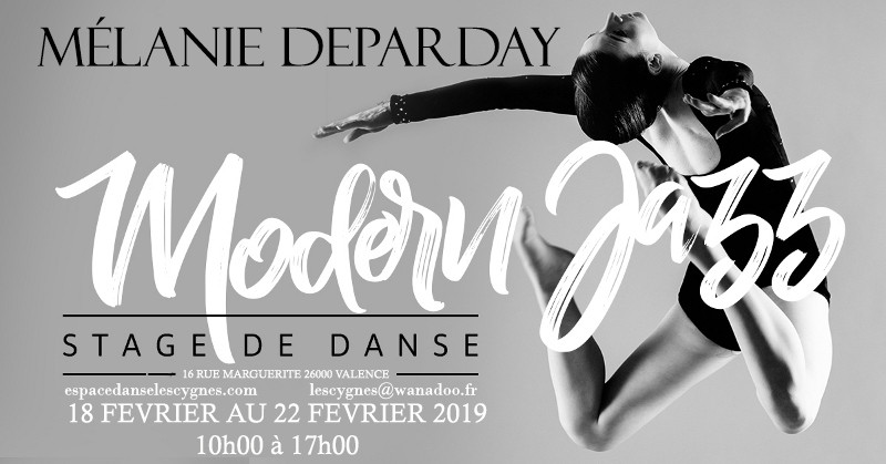 stage melanie deparday modern jazz  2019