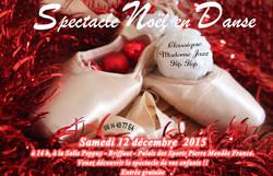 Spectacle Noël en Danse 2015