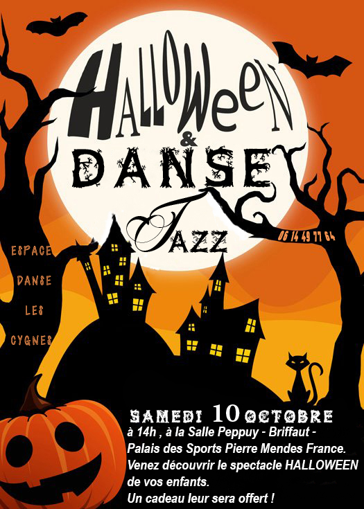 Spectacle Halloween Danse Jazz 2015