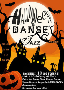 Spectacle Halloween Danse Jazz 2015