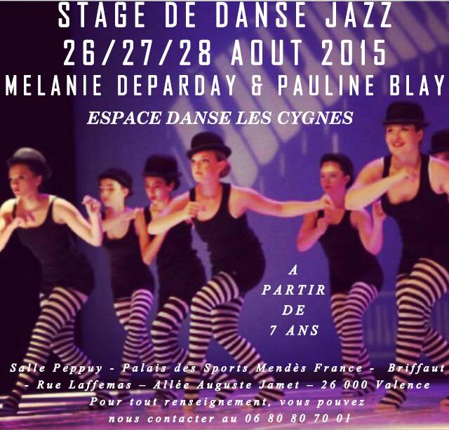 Stage Pré rentrée jazz