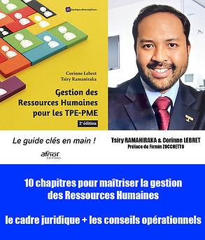 Image de Tsiry RAMANIRAKA et de gestion des ressources humaines, livre édité par AFNOR