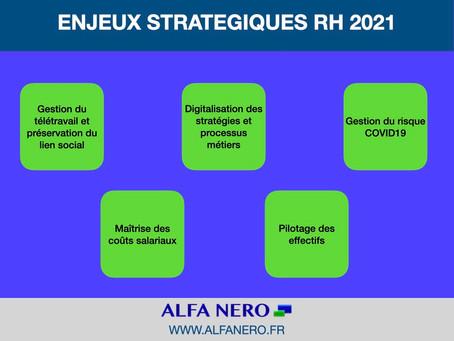 ENJEUX STRATEGIQUES RH 2021