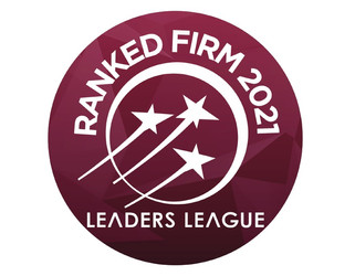 Tamayo Jaramillo Asociados en ranking  Leaders League 2021