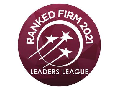 Tamayo Jaramillo Asociados en ranking  Leaders League 2021